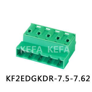 KF2EDGKDR-7.5/7.62;300V 10A;green Color